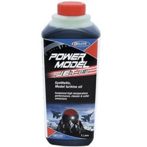 Deluxe Power Model Jet Oil - 1 Litre	V-LU02