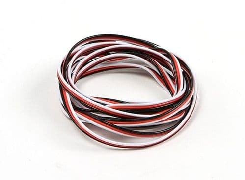 Futaba Servo Wire 22AWG  5mtr (Red/Black/White)
