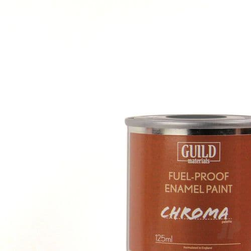 Guild Materials Chroma Clear Gloss Enamel Fuel-Proof Paint  (125ml Tin) GLDCHR6208