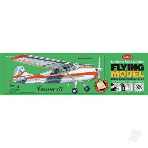 Guillow Model Kits Cessna 170 (Laser Cut)
