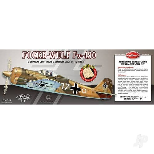 Guillow Model Kits Focke-Wulf (Laser Cut)