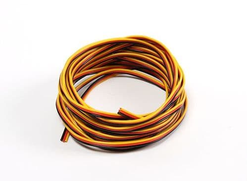 JR Servo Wire 22AWG 5 mtr (Red/Black/Yellow)