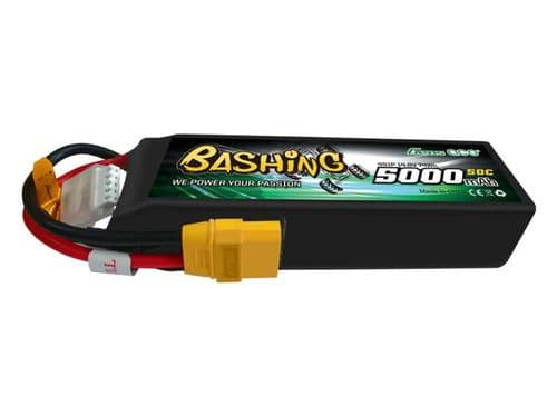 Li-Po Car 4S 14.8V 5000mAh 50C Bashing with EC5