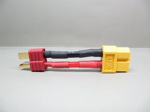 Male T-Connector <-> Female XT-60