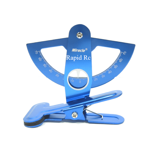 Miracle Anodized Aluminum Throw Meter Blue