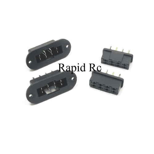 MPX 8 Pin Wing Servo Connector Male & Female Multiplex