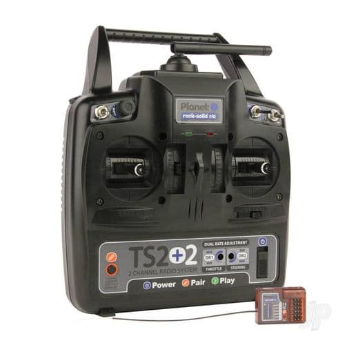 Planet Radio Sets TS2+2 2.4GHz Transmitter 6-channel Rx