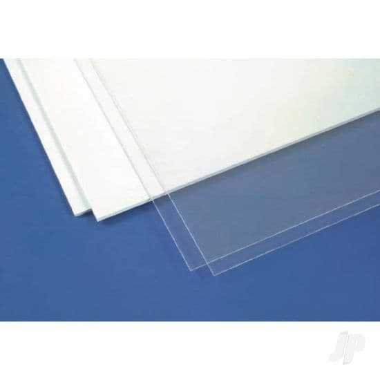 Plastic Card Clear / White