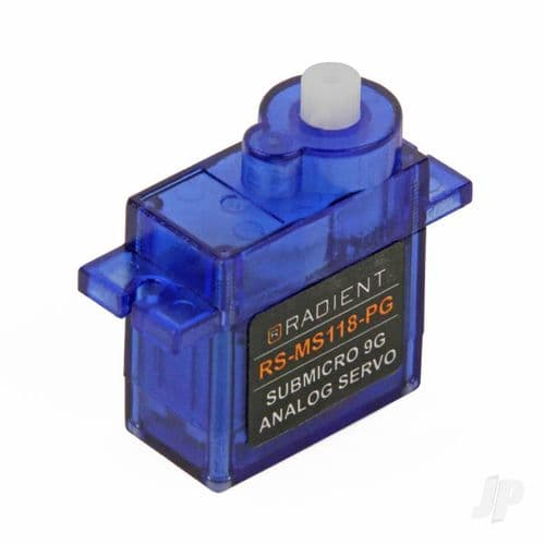 Radient RS-MS118-PG Micro 9g Analog Servo