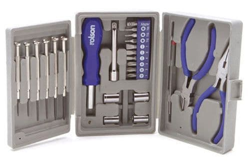 Rolson 26Pc Mini Trifold Tool Kit T-RO-36039