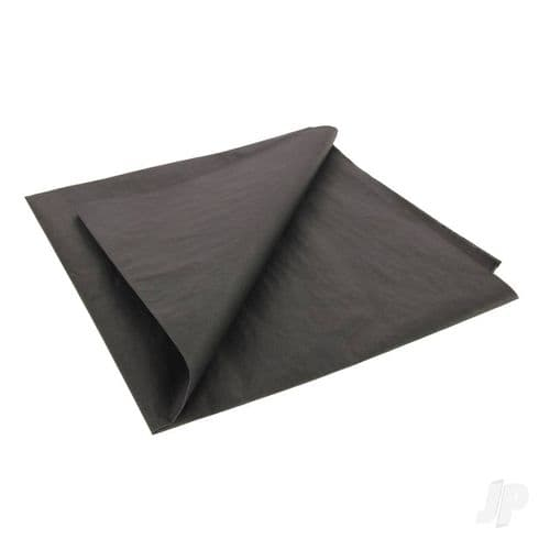 Stealth Black Lightweight Tissue Covering Paper, 50x76cm, (5 Sheets)