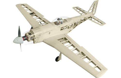 Super Flying Model P-51D Mustang EP 40 Kit A-SFM8629K