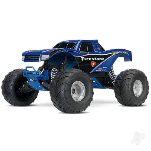 Traxxas Bigfoot Firestone Ed.  Replica Monster Truck RTR + TQ, XL-5, 7-Cell