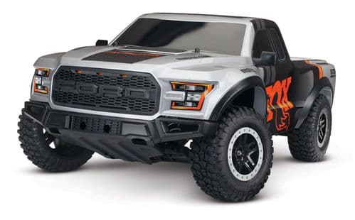Traxxas FOX Ford F-150 Raptor 1:10 2WD Ford F-150 Raptor RTR (+ TQ, XL-5, 7-Cell NiMH 3000mAh)