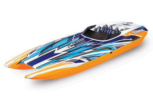 Traxxas Orange  X DCB M41 Wide Body 40in Brushless RTR Boat (+ TQi, TSM, VXL-6s, 540XL)