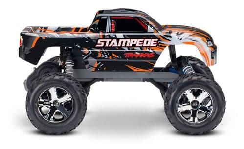 Traxxas Stampede 1:10 Orange Monster Truck (+ TQ)