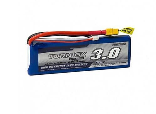 Turnigy 3000mAh 2S 40C Lipo Battery Pack w/XT-60