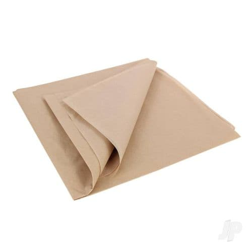 Vintage Tan Lightweight Tissue Covering Paper, 50x76cm, (5 Sheets)