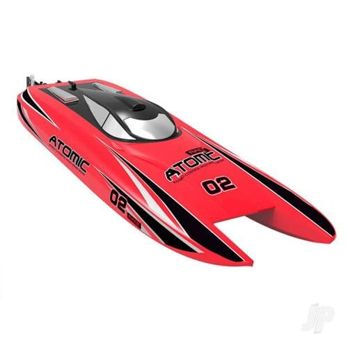 Volantex Atomic Cat 70 Brushless ARTR Racing Boat (Red) (No Battery or Charger)