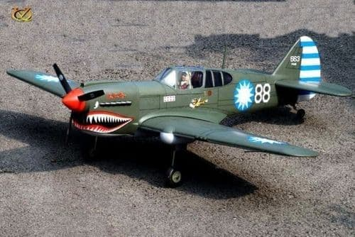 VQ CURTISS P-40 'FLYING TIGERS' 61.8IN VQA022C