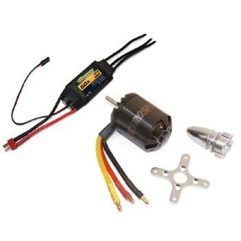 VQ ELECTROSPEED BOOST POWER PACK (MOTOR & ESC COMBO)