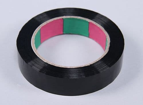 Wing Tape 45mic x 24mm x 100m  Narrow - Black