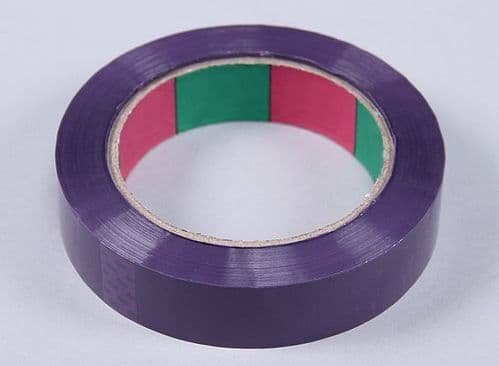 Wing Tape 45mic x 24mm x 100m  Narrow - Purple