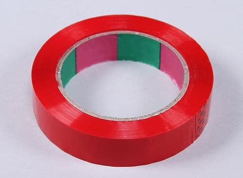 Wing Tape 45mic x 24mm x 100m  Narrow - Red