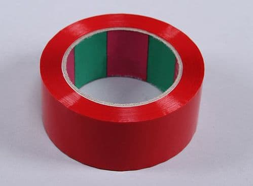 Wing Tape 45mic x 45mm x 100m   Wide - Red