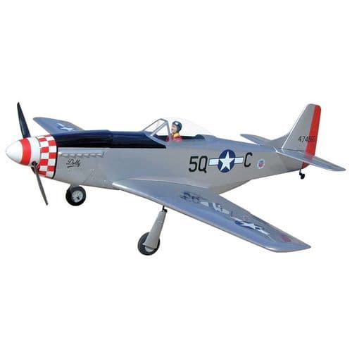 World Models P-51 Mustang G.S. 30cc (S3 - Dolly)