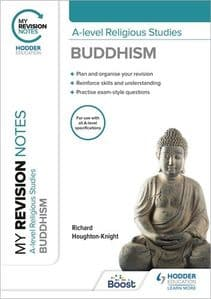 My Revision Notes: A-level Religious Studies Buddhism [pub 25/02/21  ]
