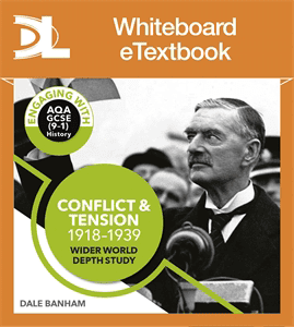 Conflict and tension, 1918-1939 Whiteboard eTextbook [S]