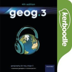 geog.3 4th edition Kerboodle Book