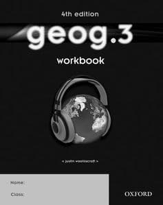geog.3    4th edition Workbook (Pack of 10)