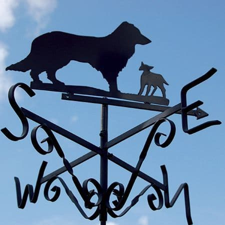 Dog and Lamb Weather Vane