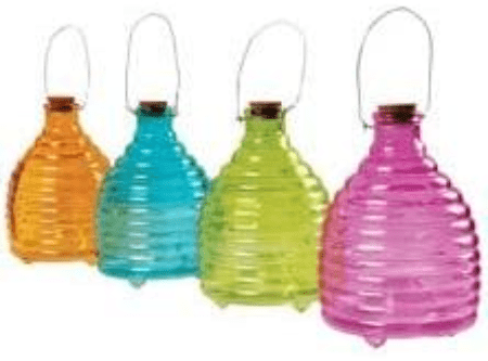 Hanging Glass Wasp Trap