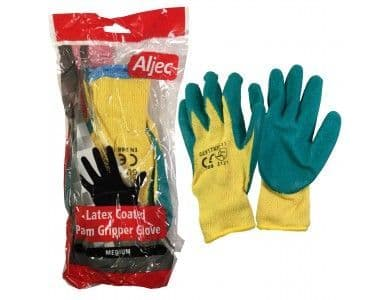 Latex Coated Palm Grip Glove