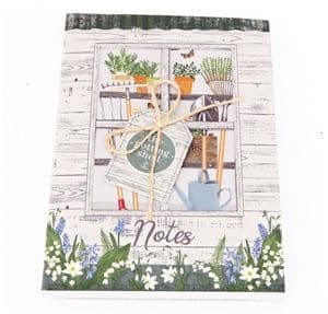Potting Shed 96 page notebook (A6)