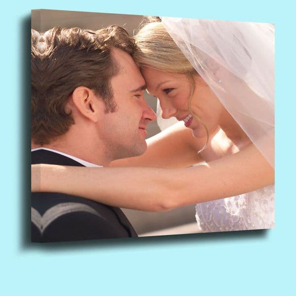 Your photo on canvas Standard 18mm deep frame