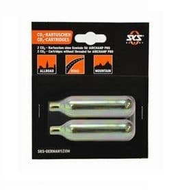 SET 2 CARTOUCHES CO2 AIRCHAMP - 16 GRS SKS