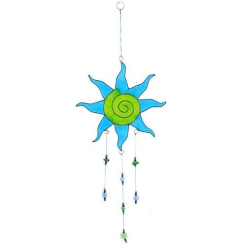 Blue & Green Sun Catcher