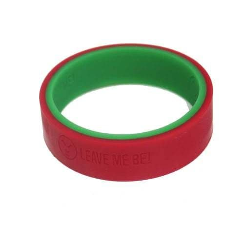 Emotichew' - Communication Flip Bangle (Teen / Adult) - Red 'Leave me be' or  Green 'Talk to me'
