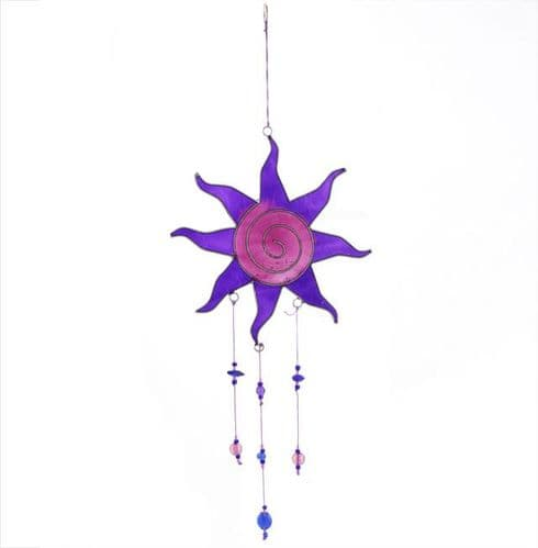 Purple Sun Catcher