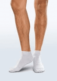 Adult Seamless Sensitivity Socks - Mini Crew - PALE GREY - (Smartknit)
