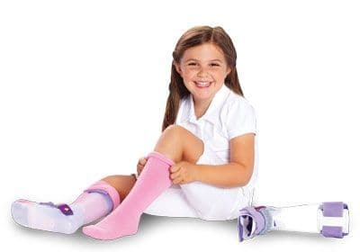 AFO Extra Small Infant (Ankle Foot Orthosis) Interface Seamless Socks - sold in pairs