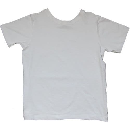 Autism Friendly Reversible Tee Shirt - White - Spectra Sensory Clothing from