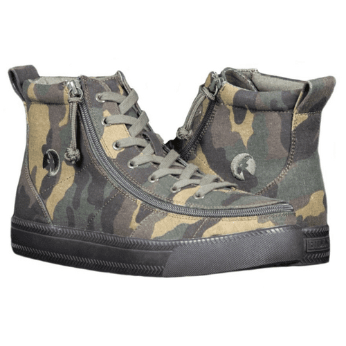 BILLY FOOTWEAR (MENS) - CAMO HIGH TOP CANVAS SHOES