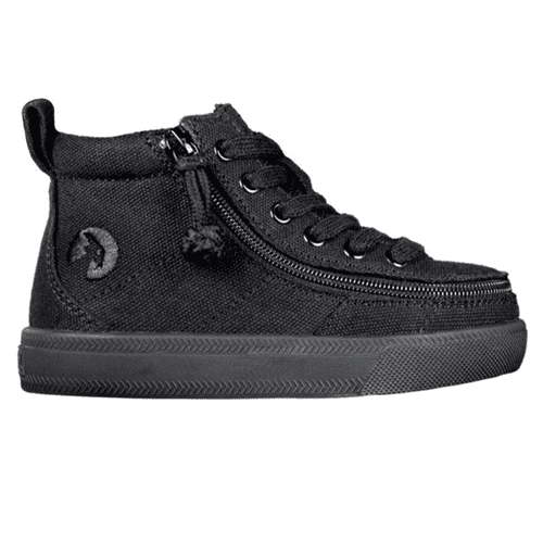 BILLY FOOTWEAR (TODDLERS) - HIGH TOP BLACK TO THE FLOOR JERSEY SHOES