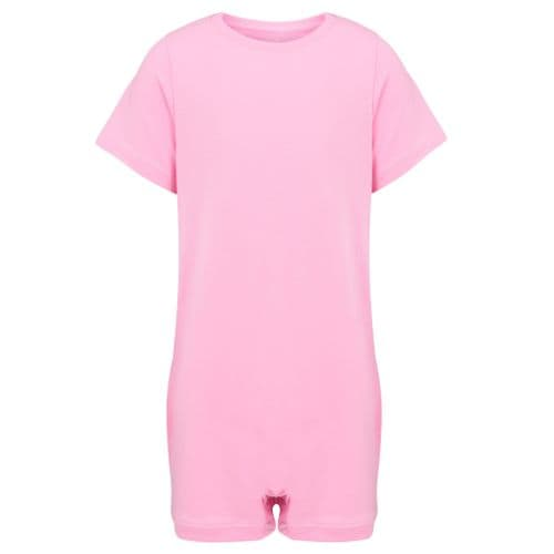 KayCey Super Soft Body Suit - Short Sleeve - PINK from