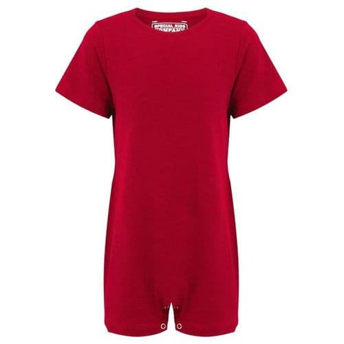 KayCey Super Soft Body Suit - Short Sleeve - RED from